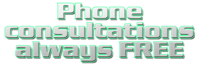 Phone consultations always free