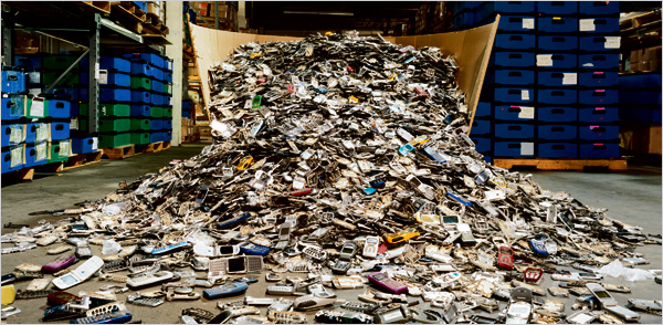 recycled cell phones 2008